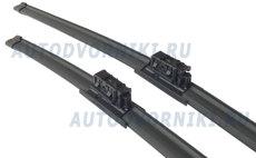 Комплект стеклоочистителей BOSCH AeroTwin A179S 700 мм и 450 мм: купить за 2649 руб