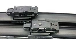 Комплект стеклоочистителей BOSCH AeroTwin A112S 580 мм и 530 мм: купить за 2299 руб