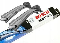 Комплект стеклоочистителей BOSCH AeroTwin AR551S 550 мм и 500 мм: купить за 1599 руб