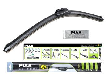 Бескаркасный стеклоочиститель PIAA серия Si-Tech (silicone) 550 мм: купить за 1290 ₽