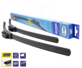 Бескаркасный стеклоочиститель Alca Super Flat 550 мм: купить за 520 руб