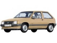 Стеклоочистители Opel Corsa